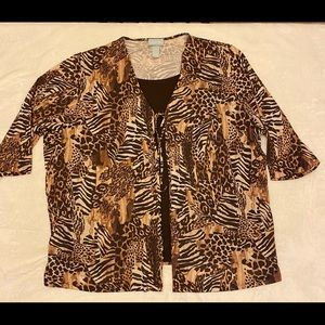 Liz and Me blouse